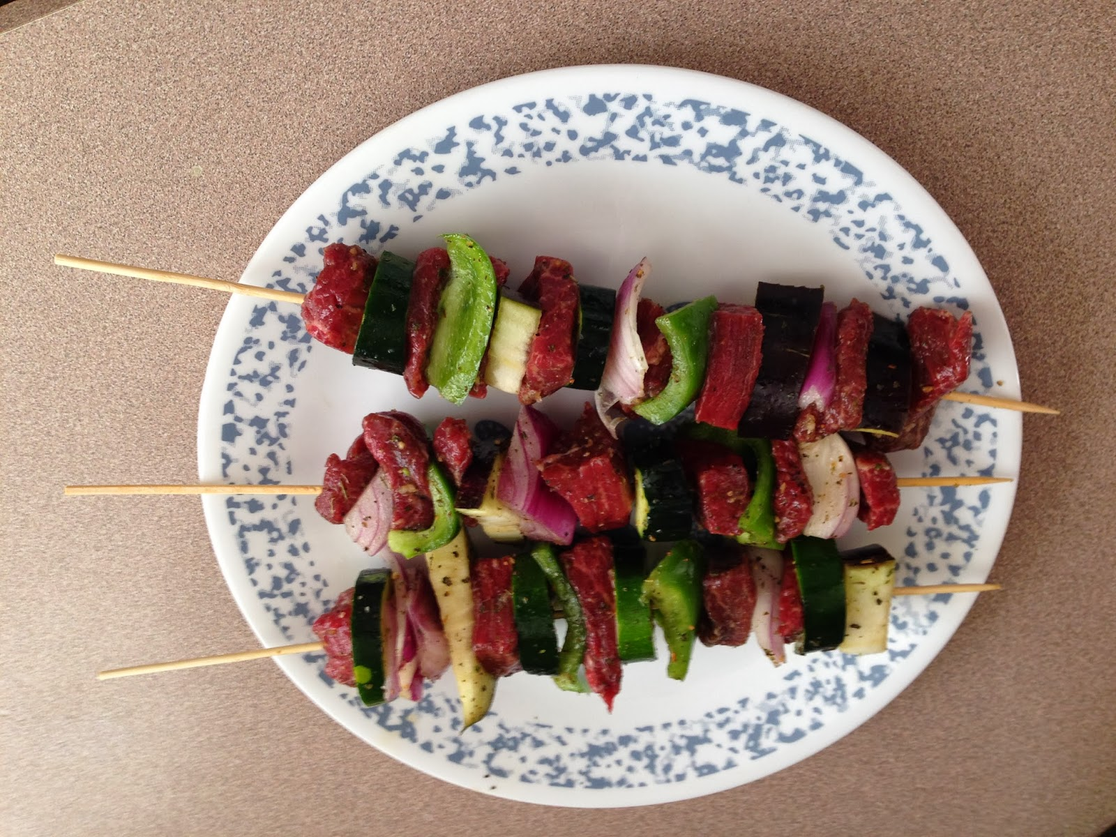 how to cook veggie kabobs in oven