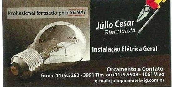 Eletricista Júlio César