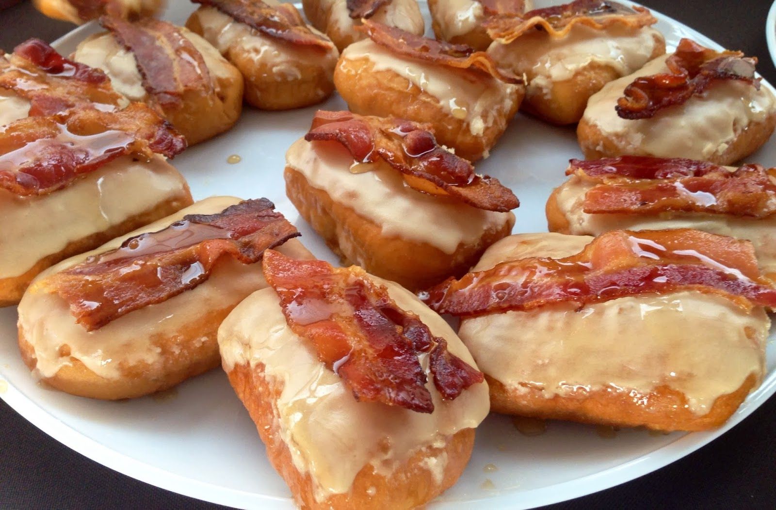 Bacon donuts from Hypnotic Donuts.Photograph by Cody Neathery.