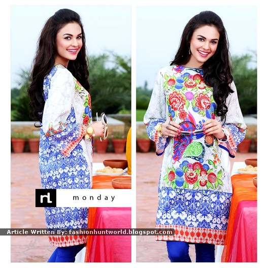 Nishat Linen Digital Printed Shirts For Midsummer