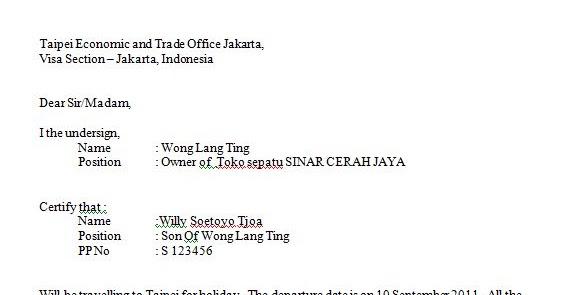 Bazk3tz Blog Apply Visa Taiwan At Teto Jakarta