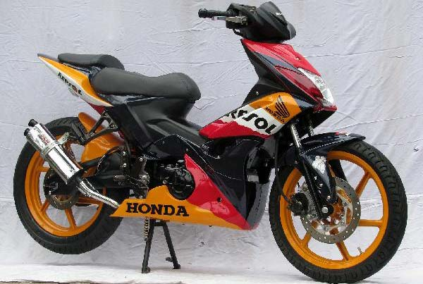 Modifikasi Honda Blade 2011 title=