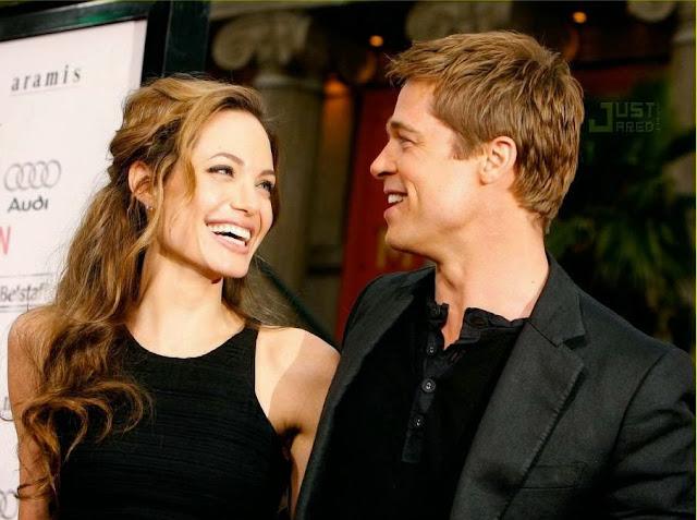 carta Brada Pitt Angelina Jolie