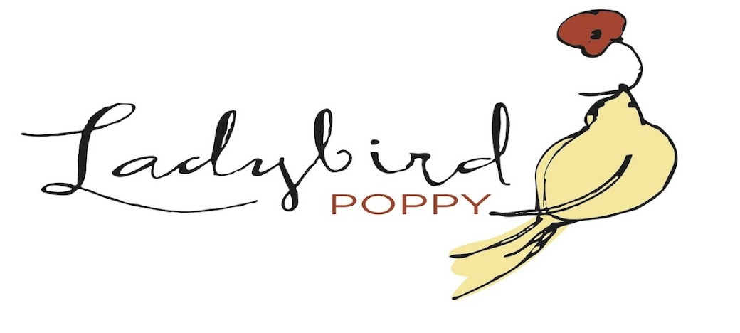 Ladybird Poppy Floral Design