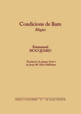 Condicions de llum (Emmanuel Hocquard)