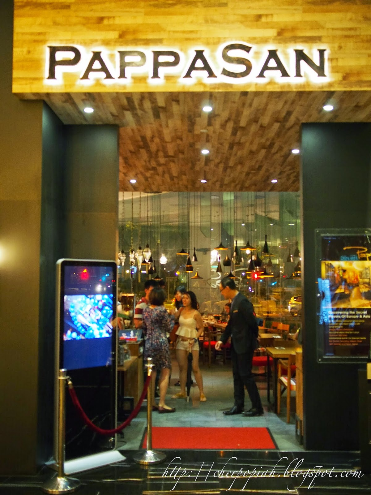 pappasan restaurant in singapore hotel