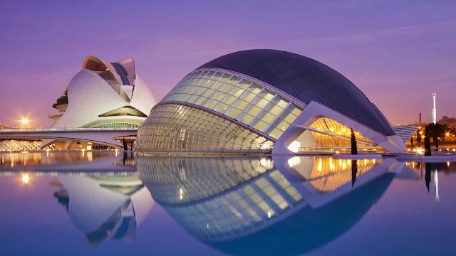 L'Hemisfèric Ciudad de las Artes y las Ciencias de Espana