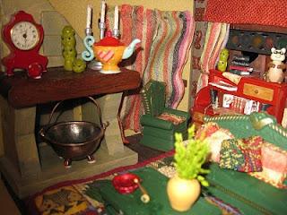 Escenas sobre el libro y la literatura en miniatura blancanieves y los 7 enanitos snow - Casa del libro xanadu ...