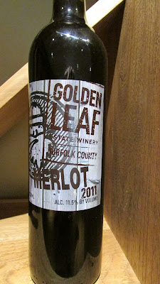 Golden Leaf Estate Winery 2011 Merlot
