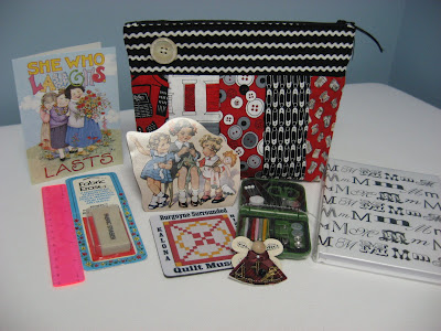 Accessory Bag Swap ~ Gift Received