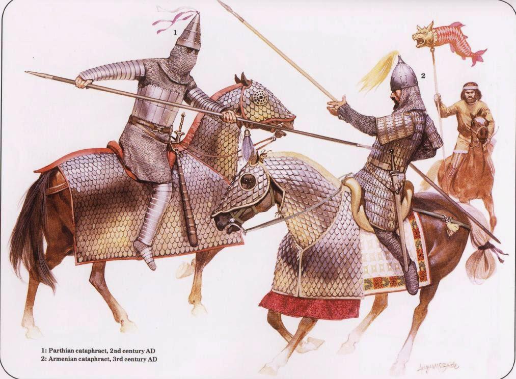 Cavalieri Armeni, in battaglia