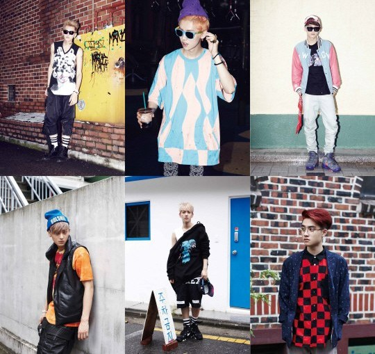 "EXO teaser ""Growl"""