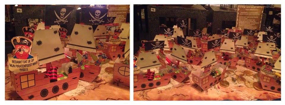 piraten traktatie, piraat traktatie, piraat kinder traktatie, piraat traktatie knutselen