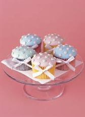 Cup Cakes Polka- Dot
