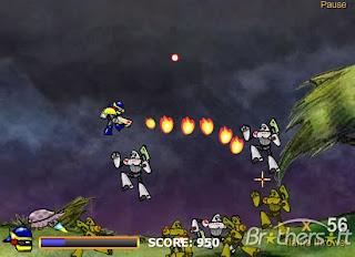 صورة من داخل اللعبة Robo Slug 2