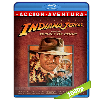 Indiana Jones 2 (1984) BRRip Full 1080p Audio Trial Latino-Castellano-Ingles 5.1