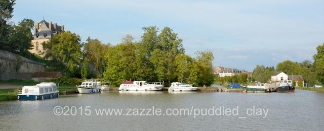 Chatillon-en-Bazois, Canal du Nivernais