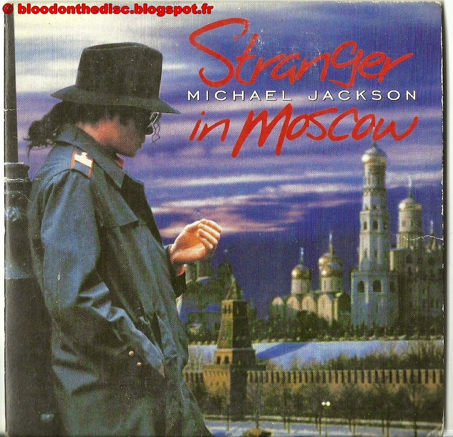 Stranger IN Moscow CD Single pochette avant