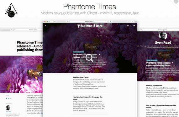 Phantome Times - modern publishing