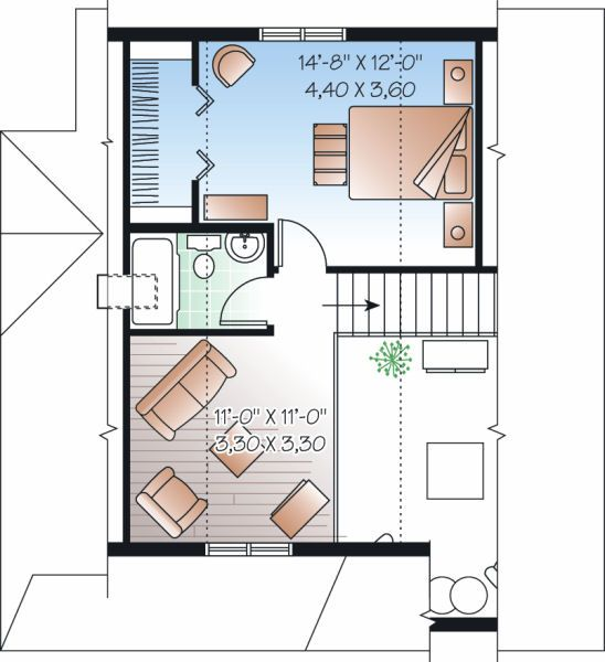 Plano de casa de 3 pisos 114 metros cuadrados for Pisos de 40 metros cuadrados