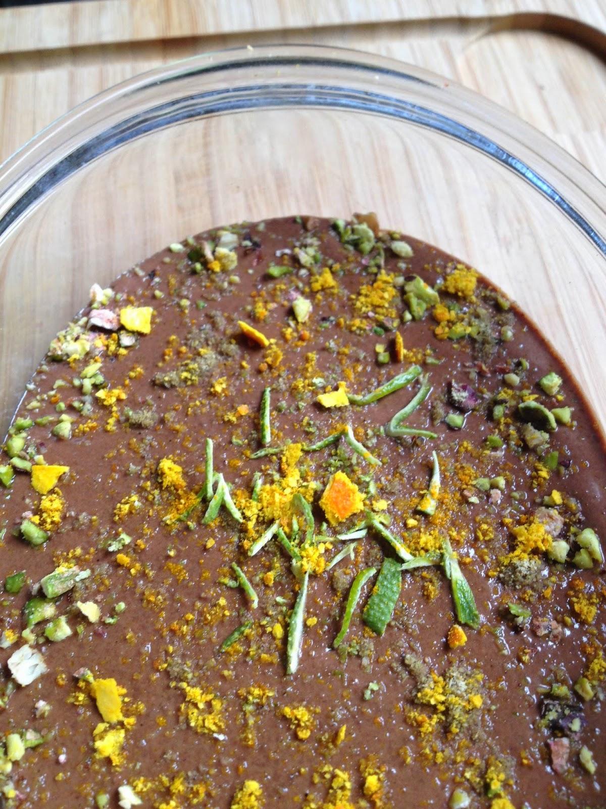 Un dessert pour apr s les paques la poonamji art de - Cuisiner les morilles sechees ...
