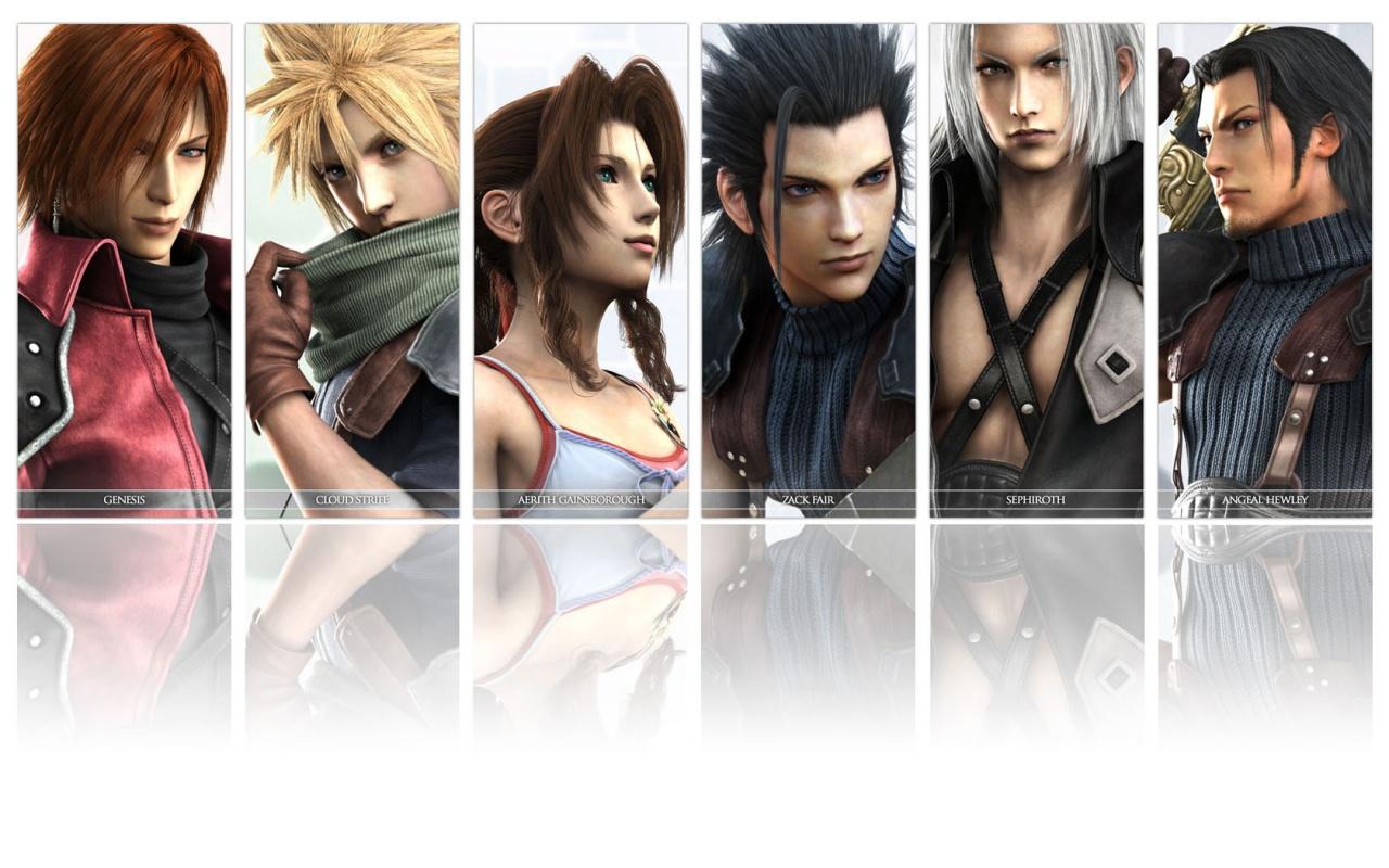 ¿Tu saga de juegos favorita? Crisis+core+final+fantasy+7+wallpaper