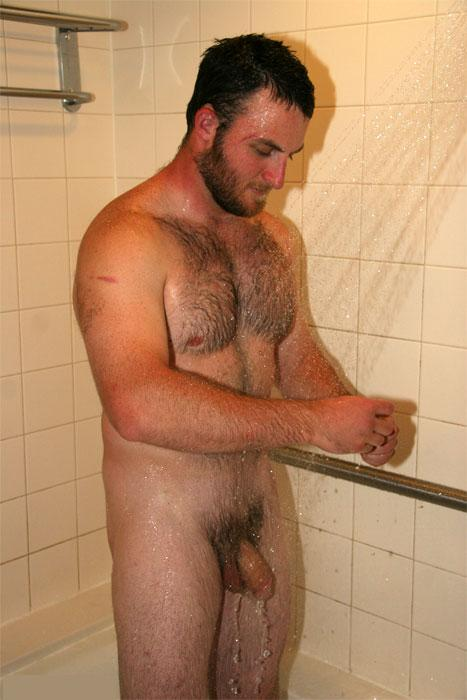 gay guys taking a shower