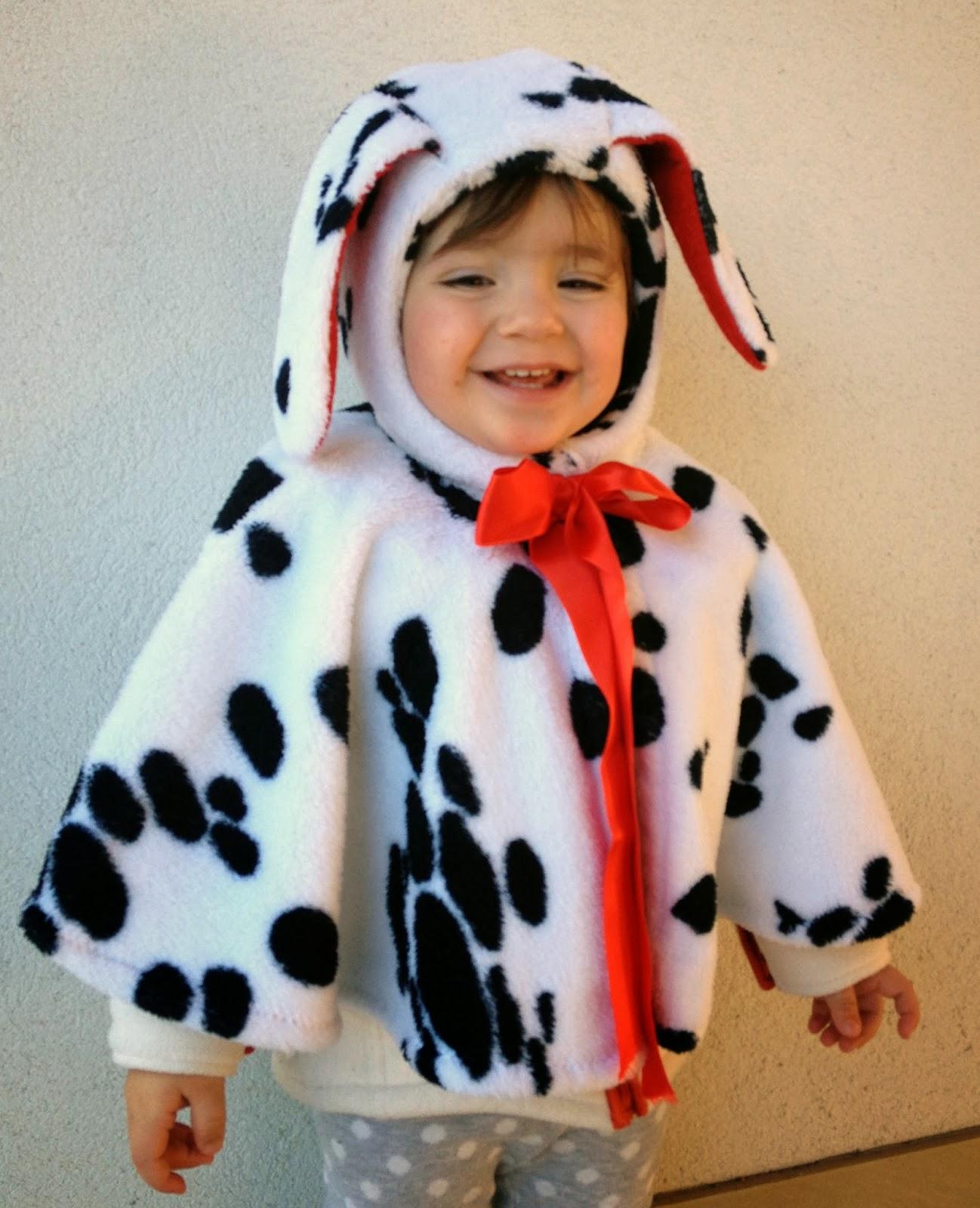 costume carnevale dalmata cane diy bambini
