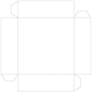 Box lid template.