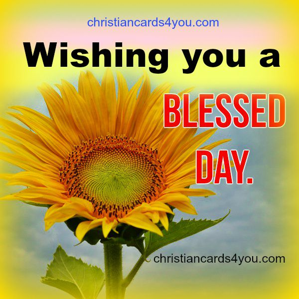 Wishing you a blessed day of peace. Bless, Bible verses, Blessings, peace, good morning, nice day, free christian images cards, Mery Bracho.