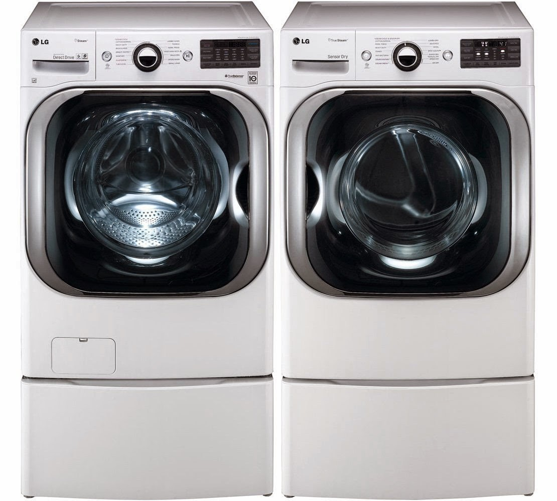 Lg Washer And Dryer Lg Steam Washer And Dryer
