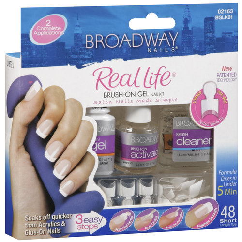 How to use broadway gel nail kit