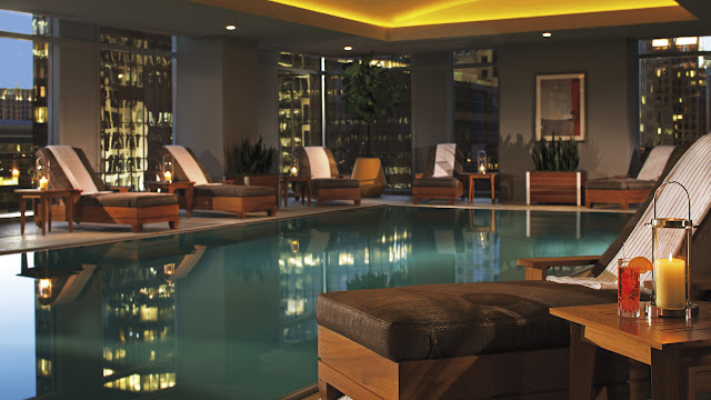 Indoor Pool at Ritz-Carlton Charlotte