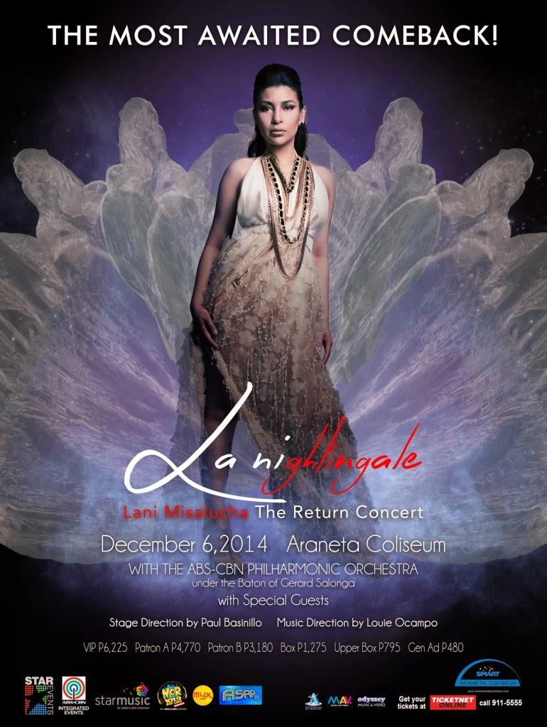 Nightingale Lani Misalucha: The Return Concert