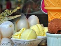 Restoran di Filipina Tawarkan Es Krim Rasa Buaya