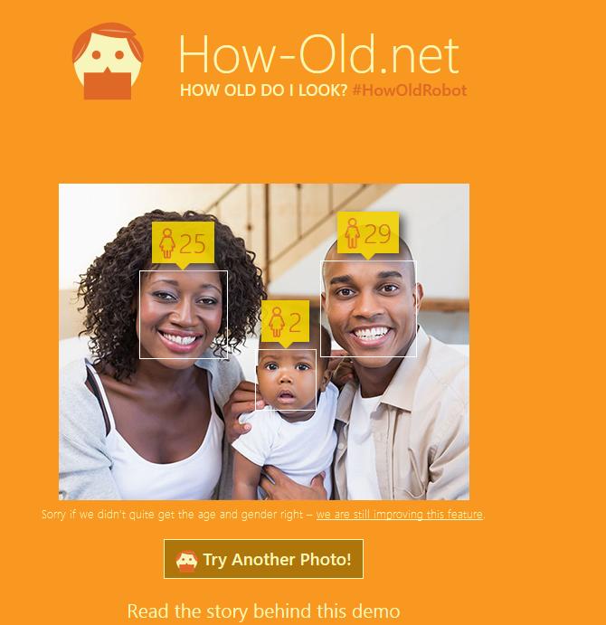 خدمة مايكروسوفت الجديدة لمعرفة عمر أي شخص من خلال صورته الشخصية