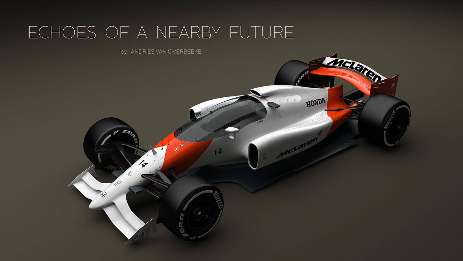 Uber Cool Closed Cockpit Formula 1 Concept Just Looks Mega 30 Pics Carscoops