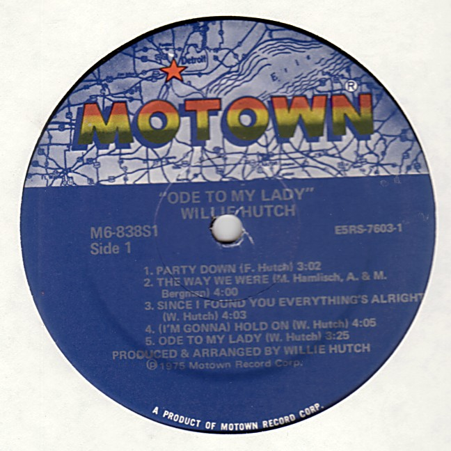 Willie Hutch - Get Ready For The Get Down