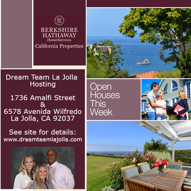 Open House In La Jolla | We're Hosting 1736 Amalfi & 6578 Avenida Wilfredo All Weekend