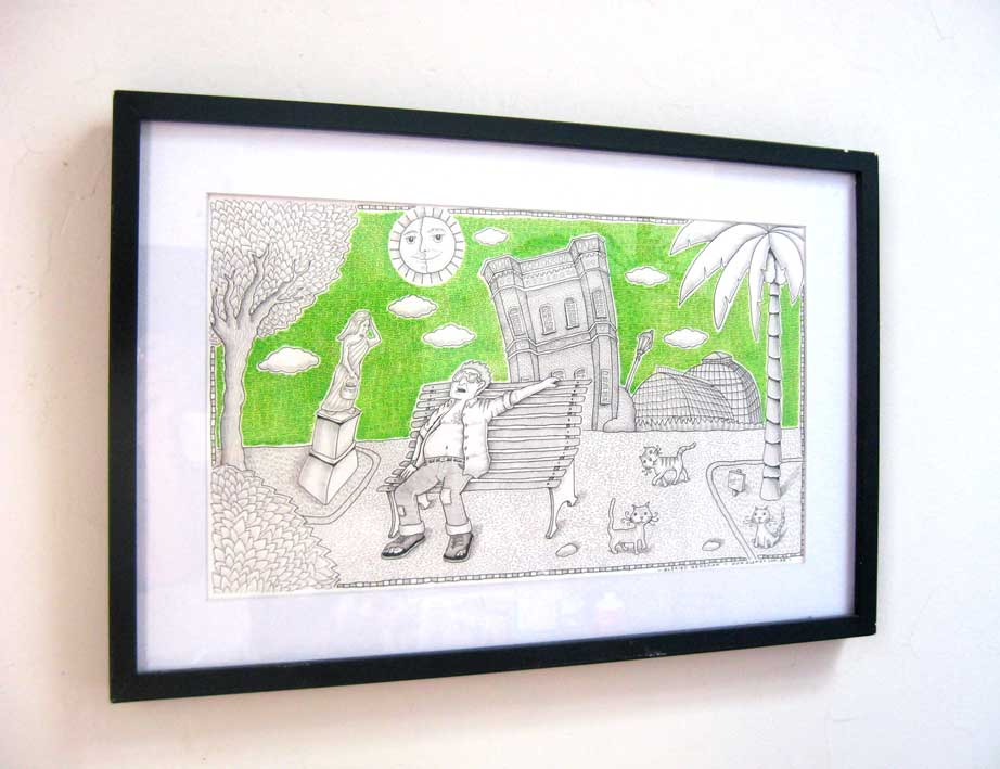 Ilustrador alexiev gandman cuadros en el comedor for Cuadros comedor originales