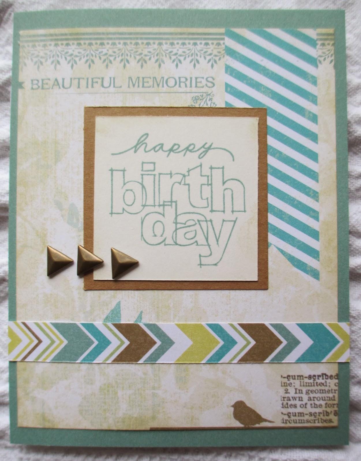 CTMH Skylark, CTMH Skylark card, CTMH birthday card, CTMH card