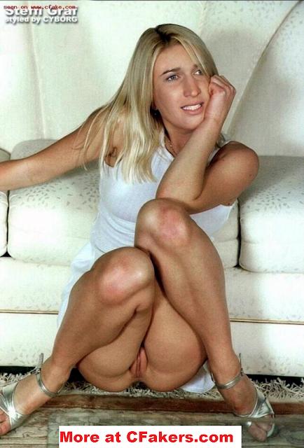 Steffi Graf Upskirt