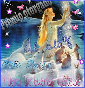 Premio de mi preciosa princesa Gaviotita. Te quiero cielo mío.