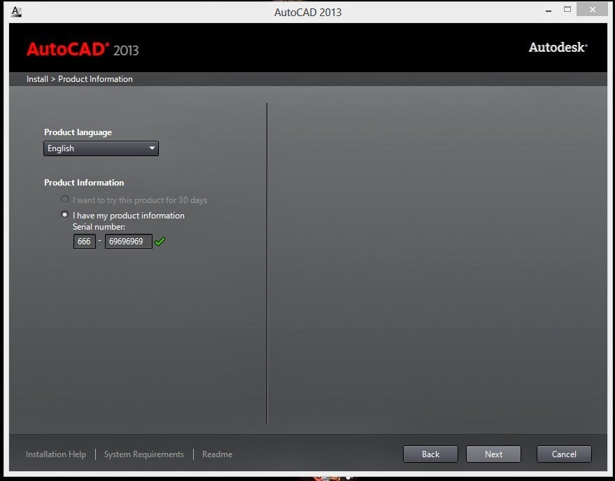 autocad 2013 serial number file