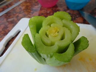 Celery Garnish for Apetina Salad