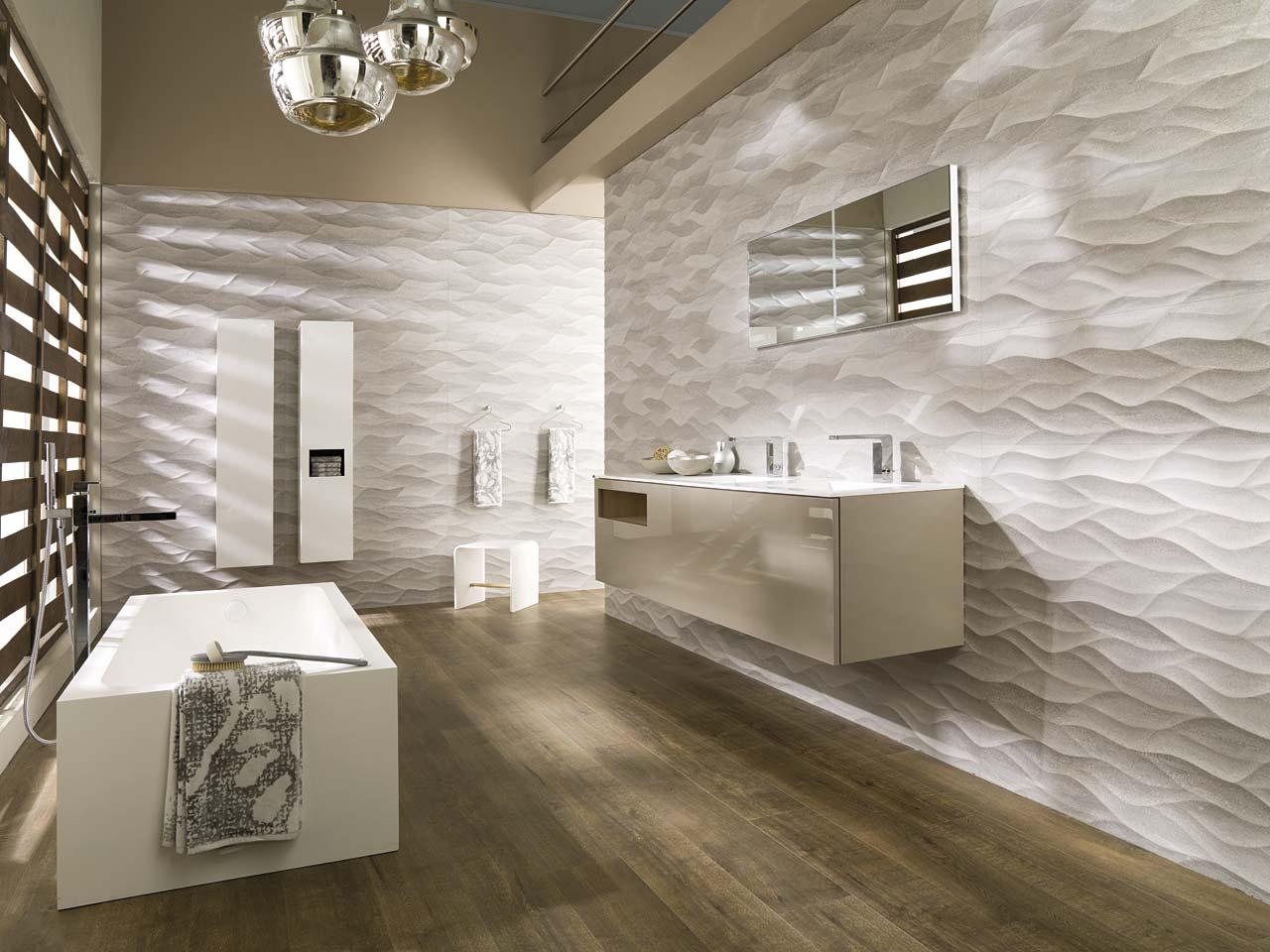 Fontaner a manzanares ba os porcelanosa for Azulejos para cuartos de bano modernos