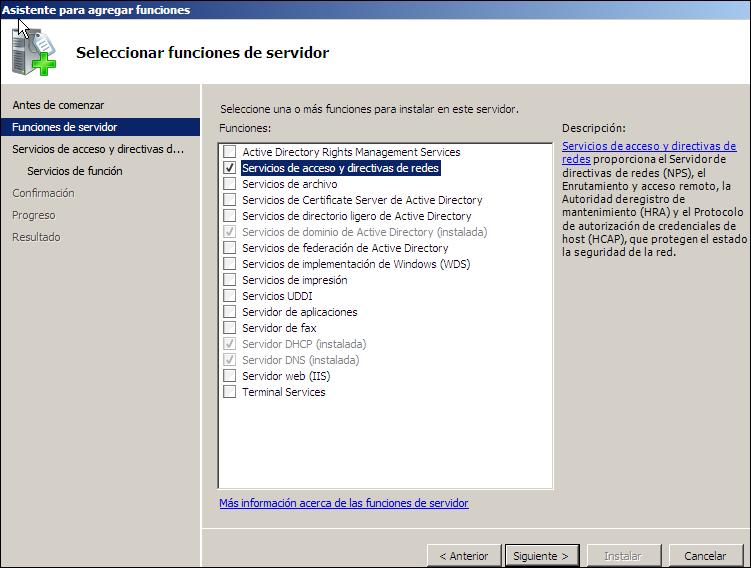 Admin: Servidor VPN - Windows Server 2008