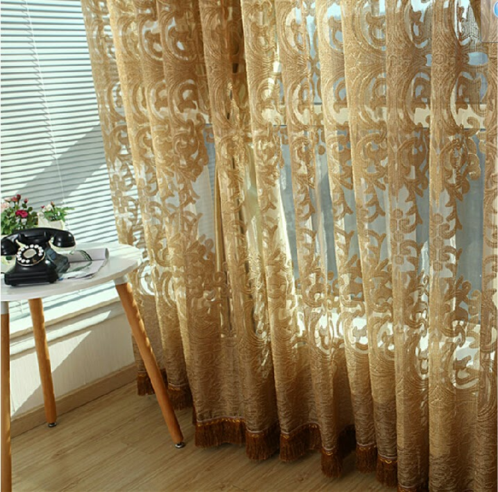 Fabric for Glass Curtains or Thin Sheer Curtains