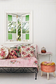 romantic rose floral print cushions