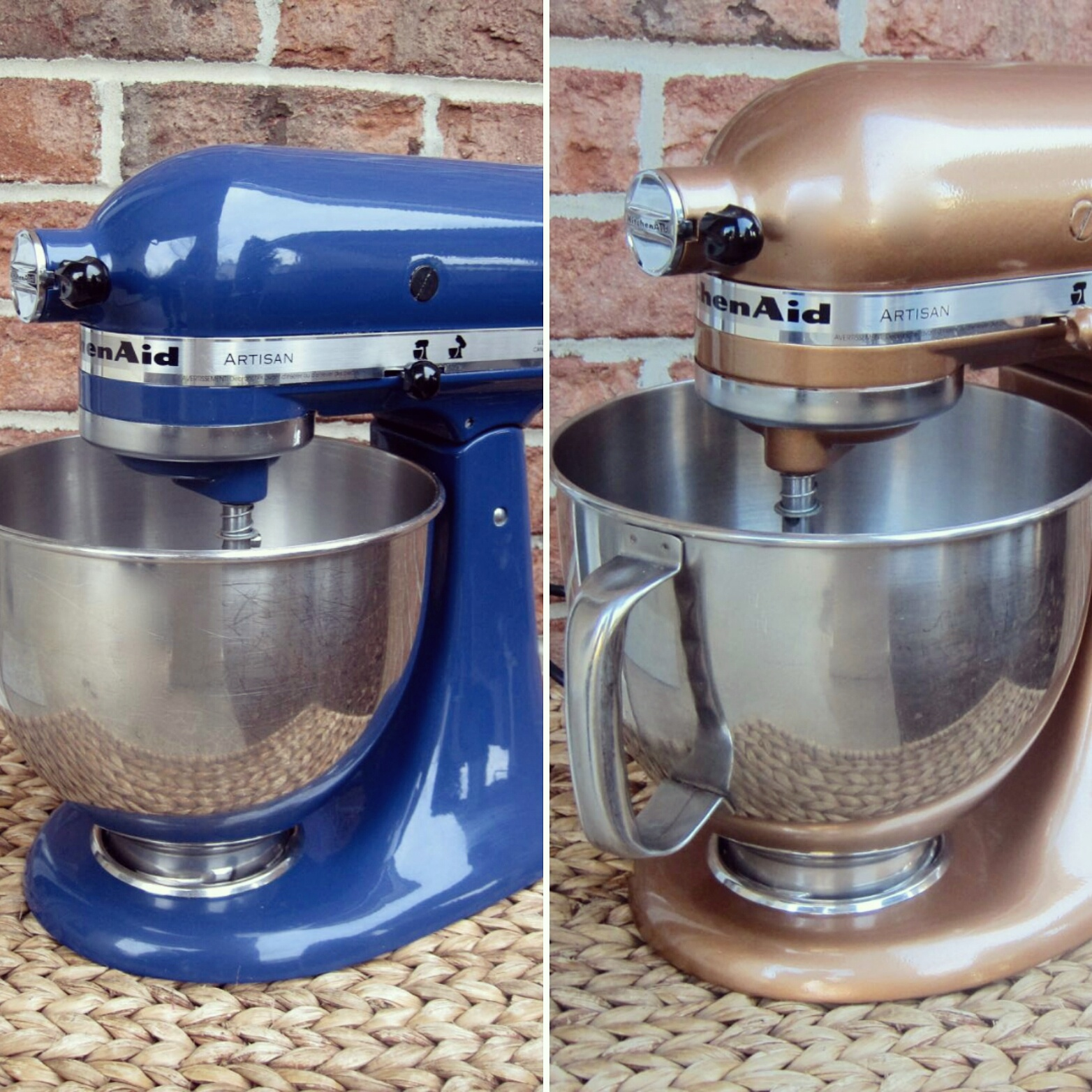 Painting Kitchen Aid Mixer. Spray Paint Your Kitchenaid Mixer Hammered Copper Finish